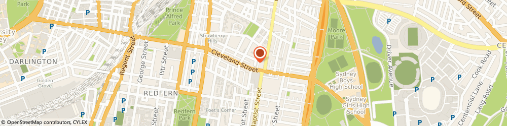 Route/map/directions to Central to Health Chiropractic, 2010 Surry Hills, 73 High Holborn Street