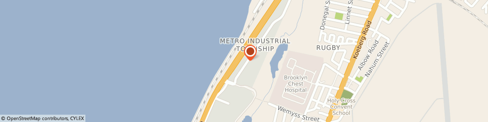 Route/map/directions to Sea Marine Electrical Suppliers, 7405 Paarden Island, 12 MILNER ST