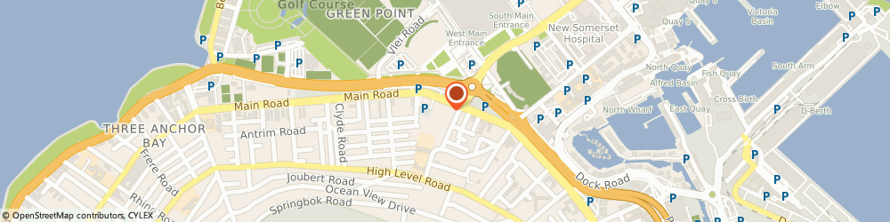 Route/map/directions to Hypermed Pharmacy, 8005 Cape Town, 91 Main Road