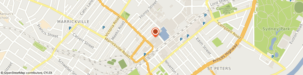 Route/map/directions to Fashion Trim Pty Ltd, 2204 Marrickville, 8 Shirlow St