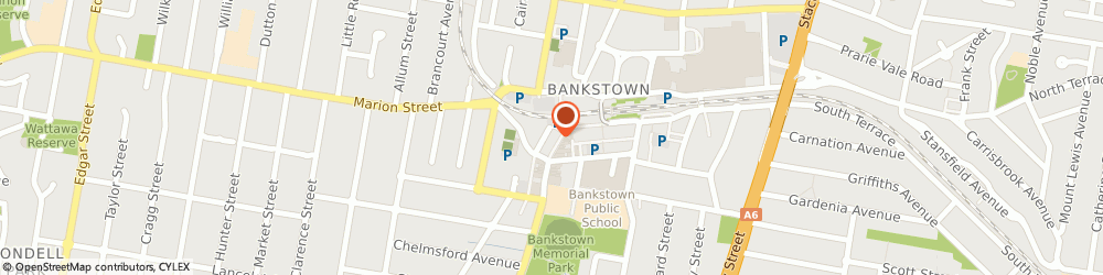 Route/map/directions to International Aluminium Supply Pty Ltd, 2200 Bankstown, SUITE 7, 324 CHAPEL ROAD