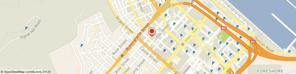Route/map/directions to J S Electrical Contractors, 8008 Cape Town, 245 BREE ST