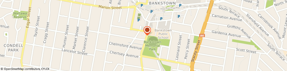 Route/map/directions to Pizza Hut Bankstown, 2200 Bankstown, 242 Chapel Rd Sth