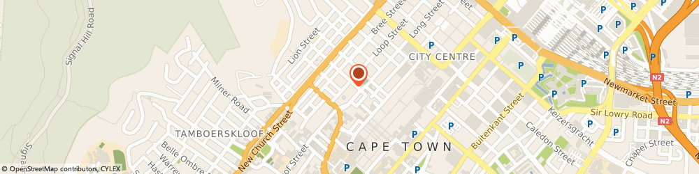 Route/map/directions to Vivid Architects Cc, 8001 Cape Town, 199 LOOP ST
