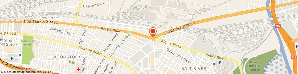 Route/map/directions to Boudry Architects, 7925 Cape Town, 374 Albert Rd
