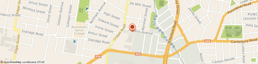 Route/map/directions to Canterbury Steel Works, 2200 Bankstown, 11a Hoskins Avenue