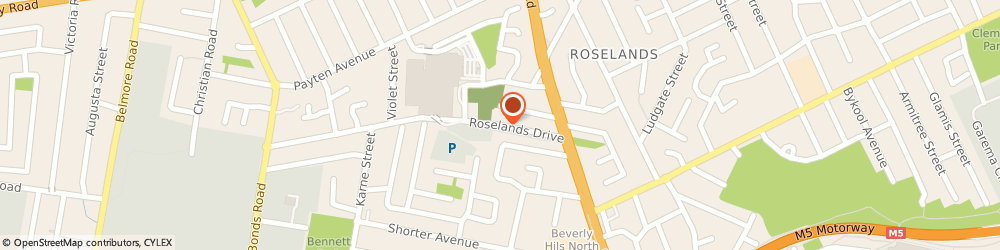 Route/map/directions to Goldmark Jewellers, 2196 Roselands, SHOP L79  ROSELANDS DRIVE