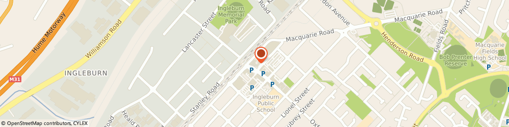Route/map/directions to St George Bank Ingleburn Branch, 2565 Ingleburn, 10 Oxford Rd