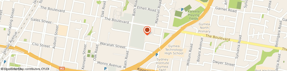 Route/map/directions to Designer Image Robes Pty Ltd, 2232 Kirrawee, Unit 38/ 398 The Boulevarde