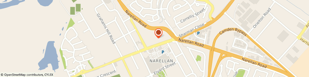 Route/map/directions to Prouds Narellan, 2567 Narellan, 326 Camden Valley Way