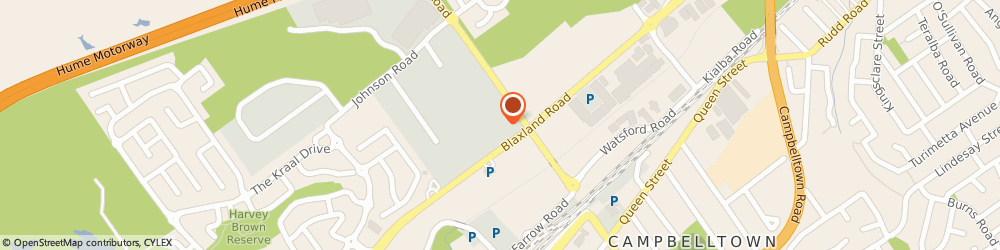 Route/map/directions to Tint a Car, 2560 Campbelltown, 53 Blaxland Road