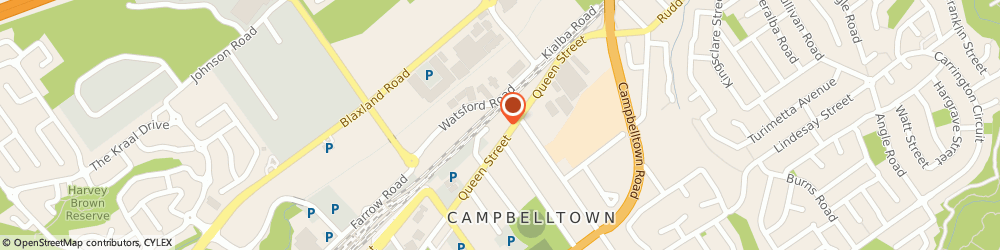 Route/map/directions to Shell CAMPBELLTOWN, 2560 Campbelltown, 27 Queen Street