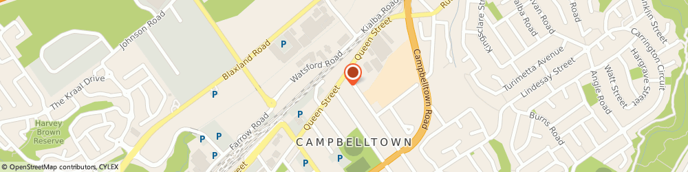 Route/map/directions to Snap Campbelltown, 2560 Campbelltown, 50 Queen Street