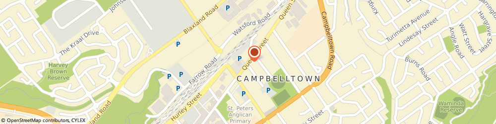 Route/map/directions to Beaurepaires CAMPBELLTOWN, 2560 Campbelltown, 78 Queen St
