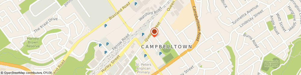 Route/map/directions to Goodyear Autocare Car Service CAMPBELLTOWN, 2560 Campbelltown, 78 Queen St
