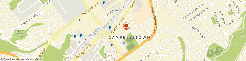 Route/map/directions to Nagle Centre Family Care & Support, 2560 Campbelltown, 22 Iolanthe Street