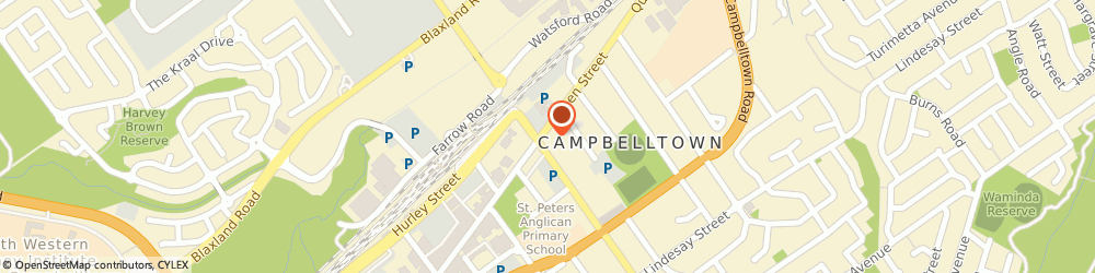 Route/map/directions to Woolworths Supermarkets - Campbelltown Mall, 2560 Campbelltown, 90-94 Queen Street (Cnr Broughton)
