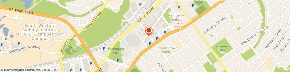 Route/map/directions to Independent Grocers of Australia IGA Campbelltown, 2560 Campbelltown, 251 Queen Street