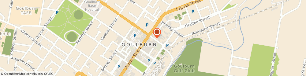 Route/map/directions to Qbe Insurance (Goulburn Nsw), 2580 Goulburn, 34 GOLDSMITH STREET