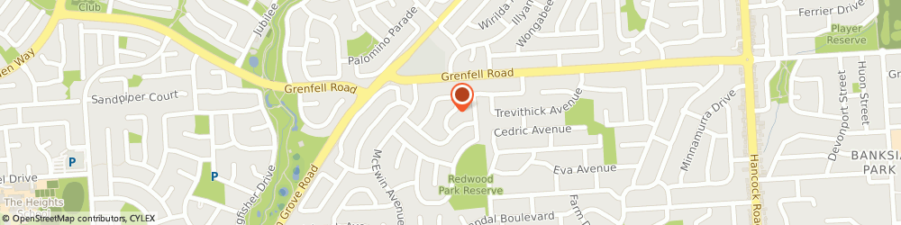 Route/map/directions to North East Car Security, 5097 Redwood Park, 4 Parry Crescent