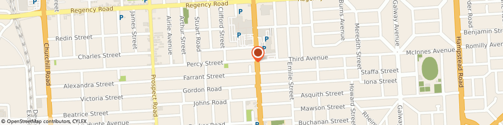 Route/map/directions to Wf Motors Pty Ltd, 5082 Prospect, 238 Main North Road