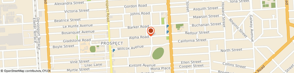 Route/map/directions to Cash For Cars Prospect, 5082 Prospect, 9 Alpha Rd
