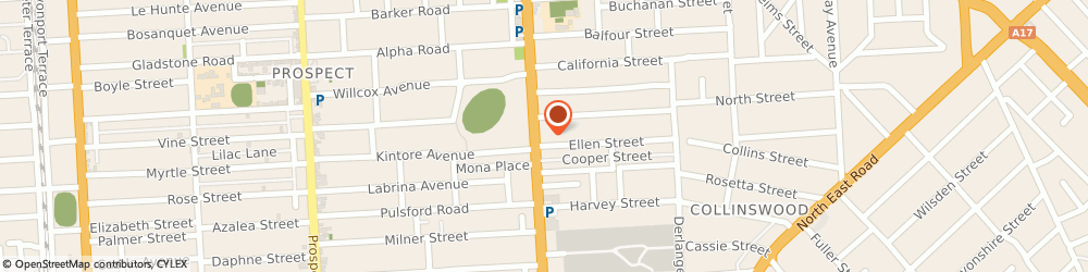 Route/map/directions to City Holden & HSV, 5083 Nailsworth, 129 Main North Road