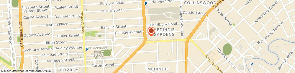 Route/map/directions to Sinergy Motor Sports, 5081 Medindie Gardens, 51 Main North Rd