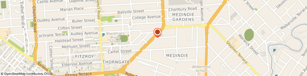 Route/map/directions to CK Motor Trade, 5081 Medindie, 27 Main N Rd