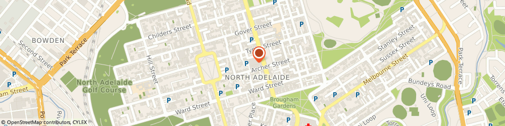 Route/map/directions to Bendigo Bank- North Adelaide, 5000 Adelaide, SHOP T11, 81 O'CONNELL STREET