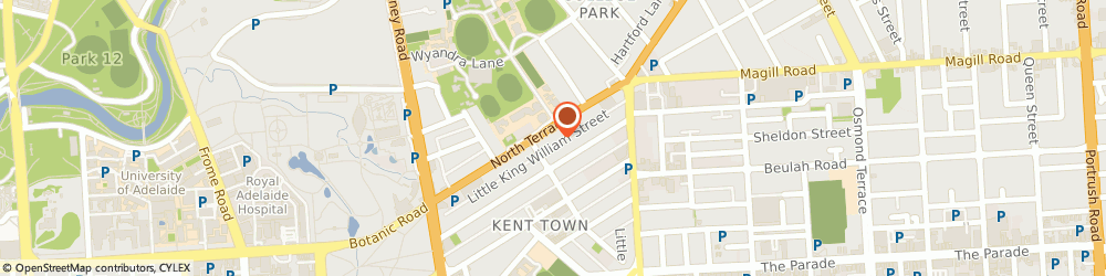 Route/map/directions to Puratap Pty Ltd, 5067 Kent Town, 60 North Terrace
