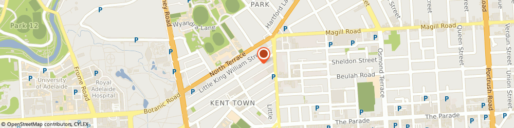 Route/map/directions to XL Letters, 5067 Kent Town, 98 King William St