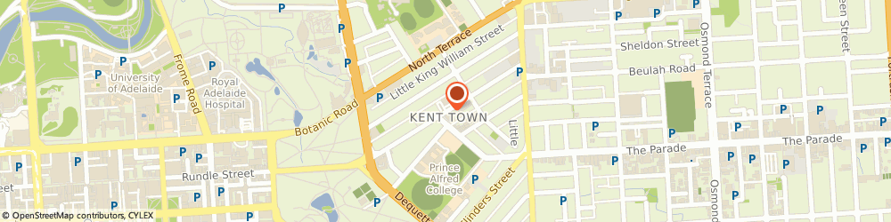 Route/map/directions to Lush Lighting, 5067 Kent Town, 55 Rundle St