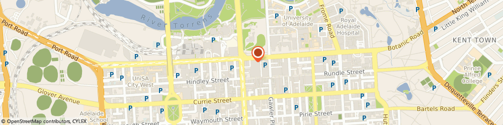Route/map/directions to Naati, 5000 Adelaide, 8TH FLOOR, 170 NORTH TERRACE