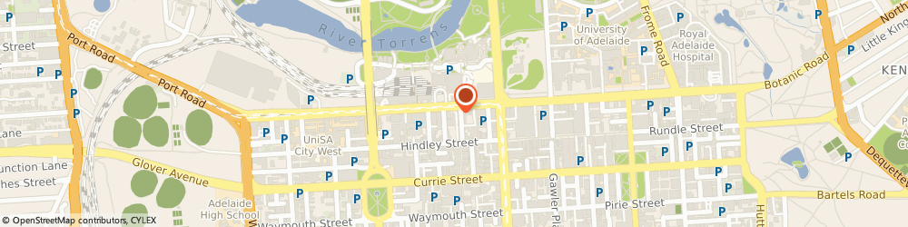 Route/map/directions to Bendigo Bank - Adelaide, 5000 Adelaide, 4/136 North Terrace