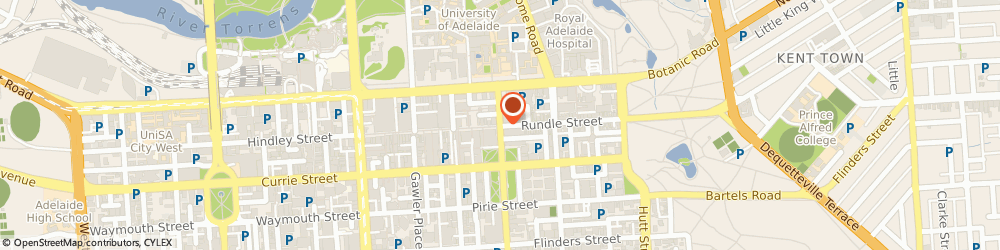Route/map/directions to Target - Centrepoint, 5000 Adelaide, Cnr. Pulteney & Rundle Streets