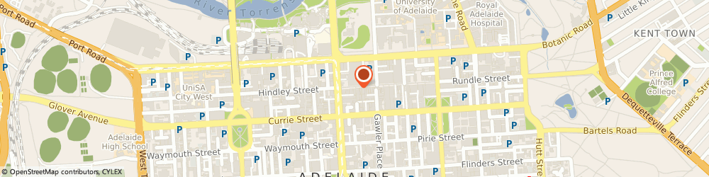 Route/map/directions to TYPO, 5000 Adelaide, Rundle Mall, 138/7 James Place