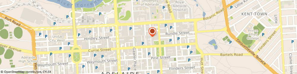 Route/map/directions to Kmart Discount Store Rundle Mall, 5000 Adelaide, 127 Rundle Mall, Rundle Mall Shopping Complex