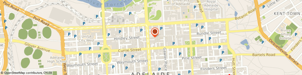 Route/map/directions to Sunglass Hut, 5000 Adelaide, Rundle Street Mall