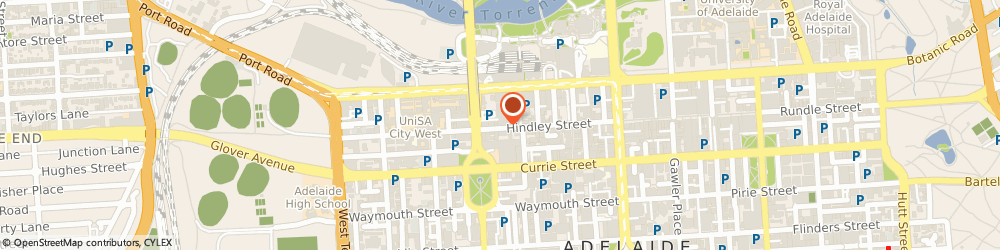 Route/map/directions to Strats Total Entertainment, 5000 Adelaide, 132 HINDLEY STREET
