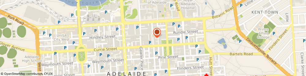 Route/map/directions to Bendigo Bank- Adelaide, 5000 Adelaide, SHOP 1, 104 GRENFELL STREET