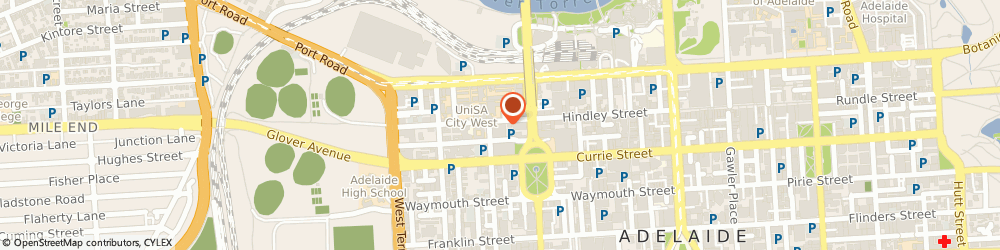 Route/map/directions to Campus Color, 5000 Adelaide, Shop 6, 193 Hindley Street