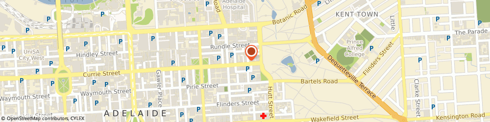 Route/map/directions to Richard Ivey, 5000 Adelaide, 226 GRENFELL STREET
