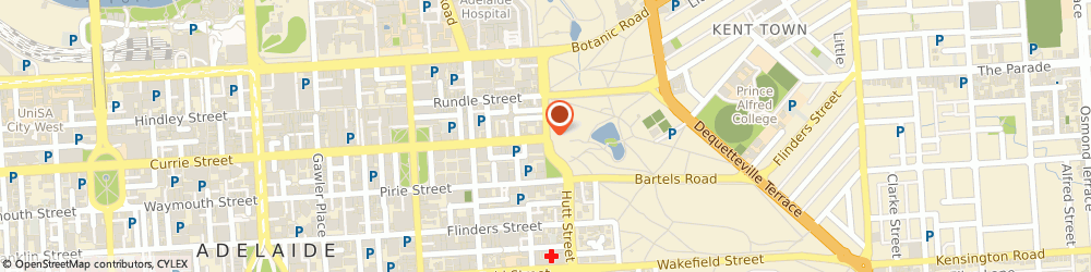 Route/map/directions to IDP IELTS Test Centre Adelaide, 5000 Adelaide, 16 Grenfell St