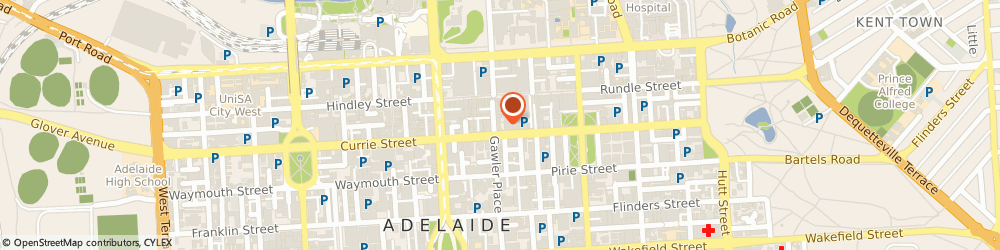 Route/map/directions to Vodafone Adelaide, 5000 Adelaide, Shop 10, Ghd Building 68 Grenfell Street