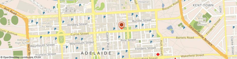 Route/map/directions to Camera House, 5000 Adelaide, 120 Grenfell Street