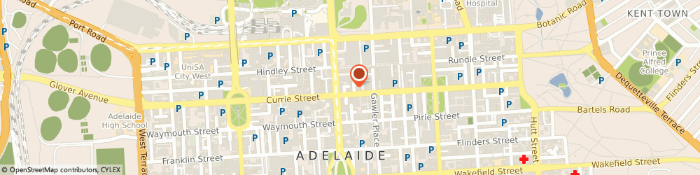 Route/map/directions to Hunter H2O, 5000 Adelaide, 18-20 Grenfell Street