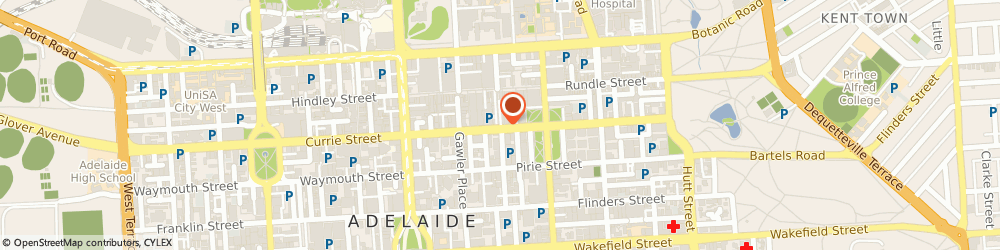Route/map/directions to Roof Revival in Adelaide, 5000 Adelaide, 1-152 Arcade Ln