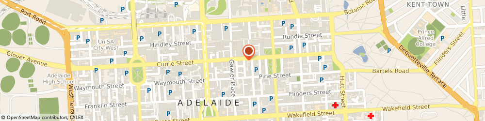 Route/map/directions to Bendigo Bank- Adelaide, 5000 Adelaide, 77 GRENFELL STREET