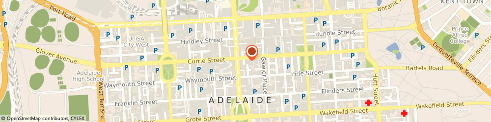 Route/map/directions to Daly Barber Salon, 5000 Adelaide, Shop 17, Adelaide Arcade